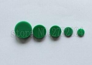 50 unids/lote C4 gorras verdes HIWIN cubierta de riel a prueba de polvo para HIWIN EG15 HG15 rieles de guía