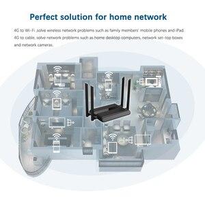 Image 2 - Wi Fi ルータ 300 sim カードスロットと 4 5dbi アンテナ 150mbps のサポート vpn pptp と l2tp 、 openvpn の wifi 4 4g lte モデムルータ WE5926