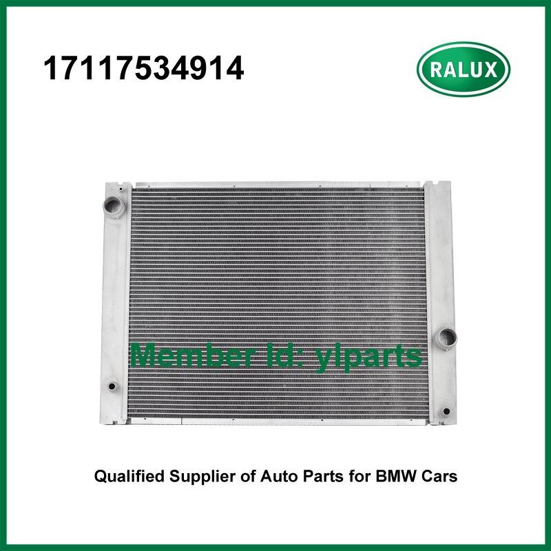 17117534914 aluminum radiator for BMW 525xi 525i 528i 530i 630i 730i E60 E61 E63 E66 2006