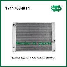 17117534914 алюминиевый радиатор для BMW 525i 528i 530i 525xi 630i motorkuhler 730i E60 E61 E63 E66 2006-2010 MT система охлаждения