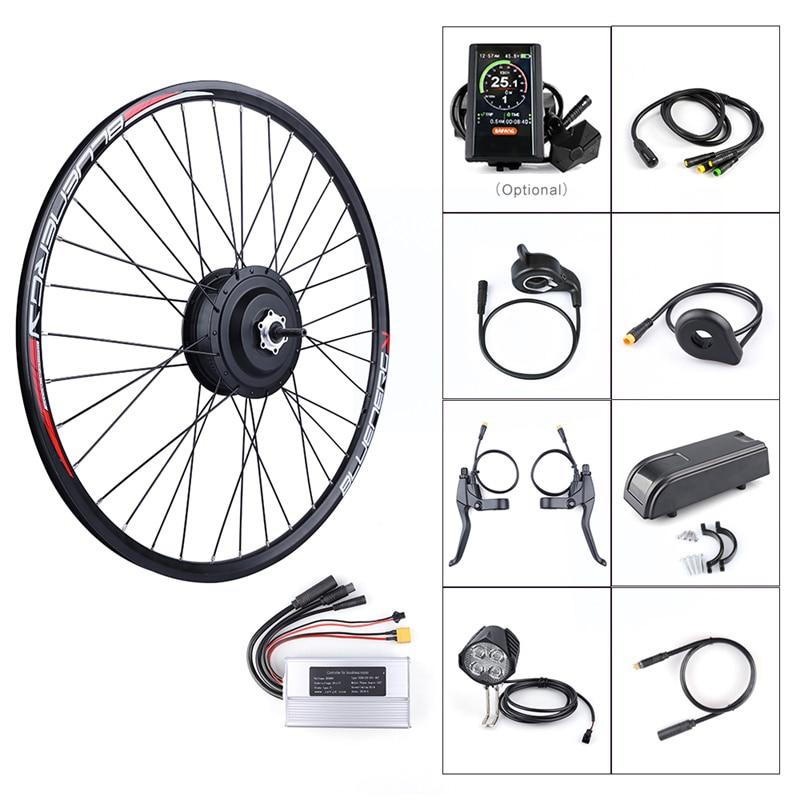 Ebike Rear Wheel Hub Motor Kits DC Cassette Flywheel E bike Bafang 36V 250W Electric Bicycle