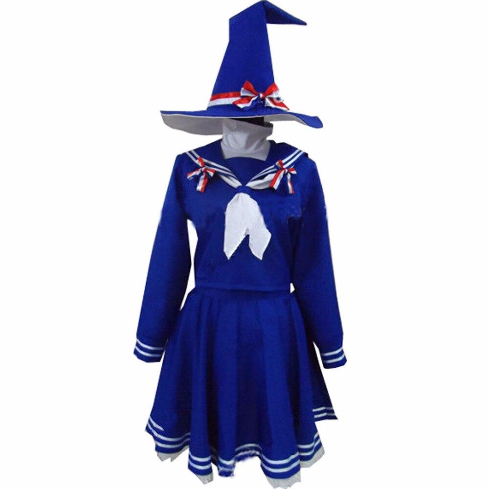 2018 Wadanohara et la grande sorcière de la mer bleue Costume de Cosplay Wadanohara