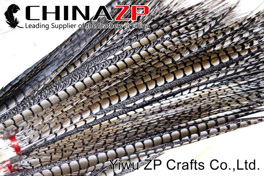 CHINAZP plume Extra mandat 70-80 cm (28-32 pouces) longueur Top qualité naturel dame Amherst faisan queue plumes