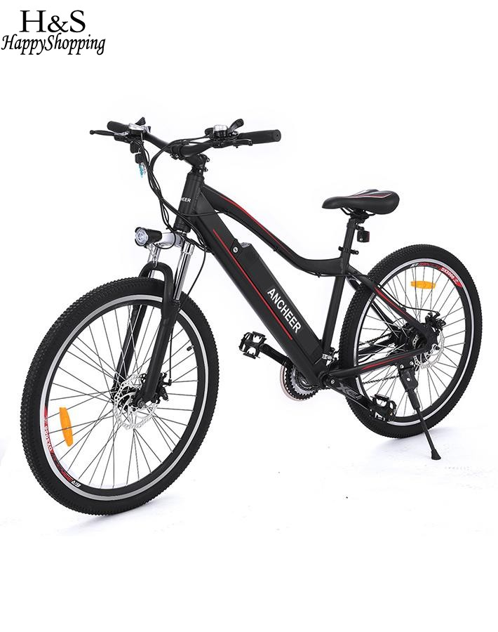 26inch 36V 12A Electric Bike Mountain Bicycle with Lithium Battery Aluminum Alloy Electric Mountain Bike Electric Bicycle free shipping 48v 15ah battery pack lithium ion motor bike electric 48v scooters with 30a bms 2a charger