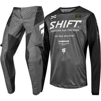 2019 NEW MX WHIT3 Label Gray Jersey Pants Adult Motocross Gear Set Motobiker Racing Gear Combination - DISCOUNT ITEM  38% OFF All Category
