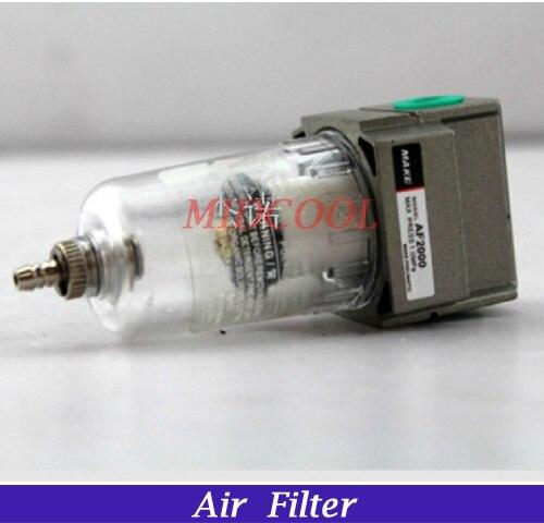 air Filter,AF2000-02,G1/4,pneumatic Filter,AF Series Plastic cotton core