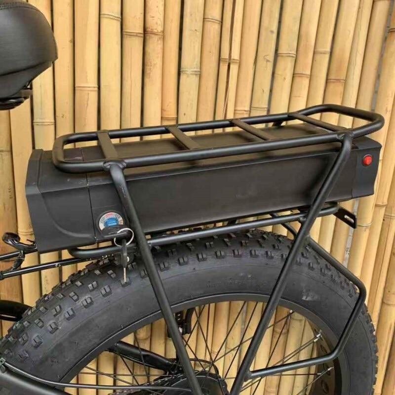 Custom 26inch Fat tire ebike 1500W 48V Li-ion snow electric mountain bicycle Hydraulic disc brake maximum range 100-260km 3
