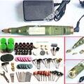 O Envio gratuito de mini broca elétrica + 161 pcs moagem acessórios + adaptador máquina Multifunções Gravura Elétrica ferramenta set kit
