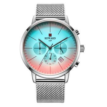 REWARD 2019 New LIGE Mens Watches Top Brand Luxury Stopwatch Sport waterproof Quartz Watch Man Fashion Business Clock Relogio