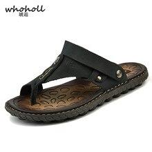 WHOHOLL Men Summer Flip Flops Mixed Colors Shoes Sandals Male Slipper Indoor or Outdoor Flip-flops Zapatillas Hombre Beach Shoes цены онлайн