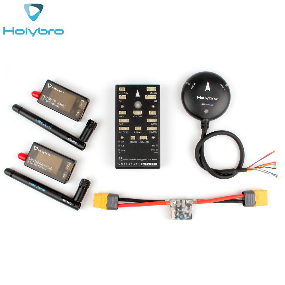 HolyBro Pix32 Pixhawk 4 Flight Controller & M8N GPS Modul & PM02 & Radio Telemetrie V3 Set Autopilot Kit für multirotor flugzeug - 2