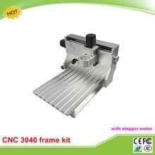New design mini cnc frame kit 3040 CNC lathe machine assembled motor and limit switch free
