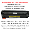 1 Pack IKON Premium Laser Toner Cartridge Compatible Replacement For HP CB435A CB436A CE285A High Yield