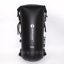 30л надувные водонепроницаемые сумки для речного треккинга сухой мешок для хранения для каноэ каяк рафтинг плавание серфинг Spelunking рюкзак