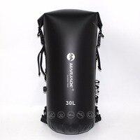 30L Inflatable Waterproof Bags River Trekking Storage Dry Sack Bag For Canoe Kayak Rafting Swimming Surfing Spelunking Backpack