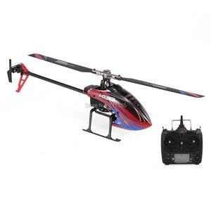 Image 5 - Wltoys XK K130 2.4G 6CH فرش ثلاثية الأبعاد 6G نظام Flybarless RC هليكوبتر RTF 6 قنوات كومبو متوافق مع FUTABA S FHSSRTF