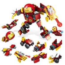 Ironman Hulkbuster Smash-u Building Blocks Compatible With Legoing Iron Man Marvel Super Heroes Avengers Infinity War Toy