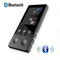 Portable Sport HIFI Bluetooth4 0 MP3 Player 1 8 Inch Screen Mp3 Lossless Music Player Voice