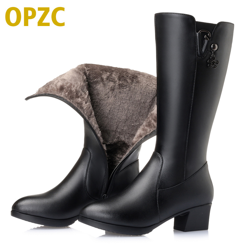 Plus size 35-43 # women's boots 2018 winter new genuine leather women boots high cotton shoes fashion women's motorcycle boots new 2017 autumn winter women genuine leather boots unisex martin boots motorcycle retro shoes high quality plus size 35 44