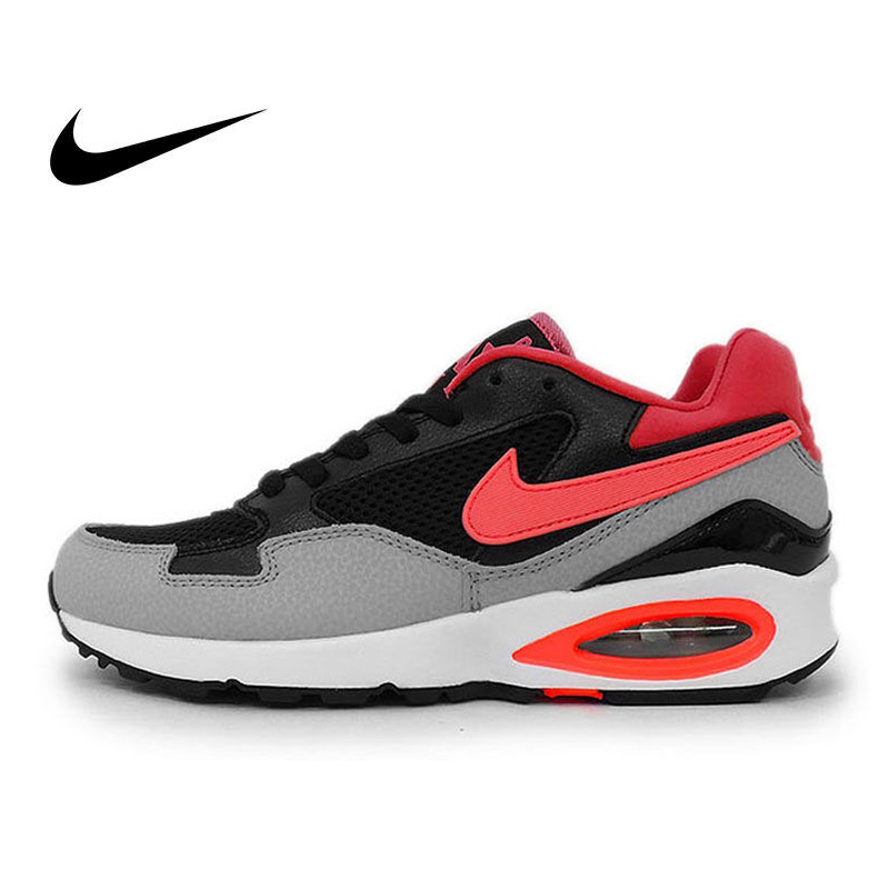 Original NIKE Authentic AIR MAX ST LUNAR Womens Running Shoes Sneakers Height Increasing Breathable Athletic Shoes ClassicOriginal NIKE Authentic AIR MAX ST LUNAR Womens Running Shoes Sneakers Height Increasing Breathable Athletic Shoes Classic