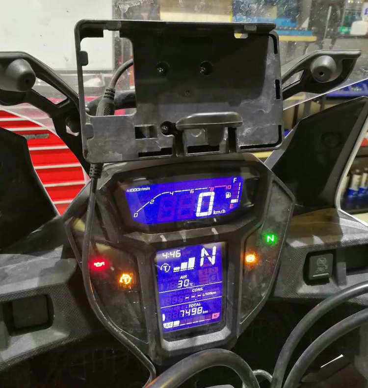мобильный телефон навигации кронштейн телефона USB зарядки для Honda CRF1000L две Африки