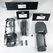 Placa de amortecedor para drone dji mavic pro, parte superior inferior intermediária, placa de amortecedor com parafusos, capa intermediária para reparo de drones peças