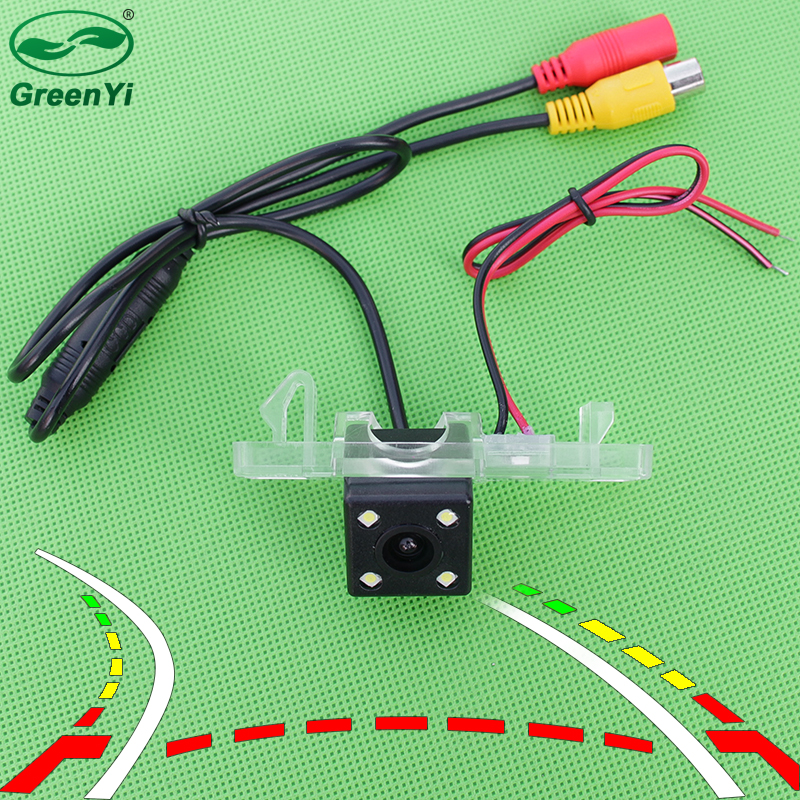 Auto Reversing Trajectory Tracks Rear View Reverse Camera For Nissan Juke Note X-TRAIL Dualis Pathfinder Navara Frontier Patrol