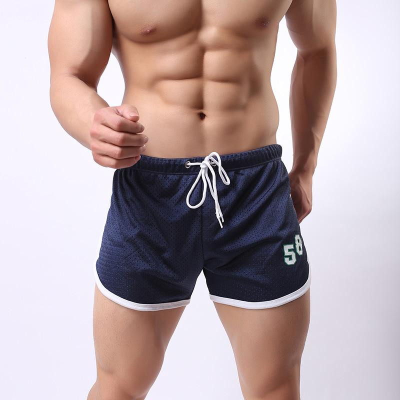 Gupatodo Summer Gym Mens Sport Running Shorts Quick Dry Outdoor Jogging Shorts Men Tennis Training Beach Shorts With Zip Pocket Men's Clothing