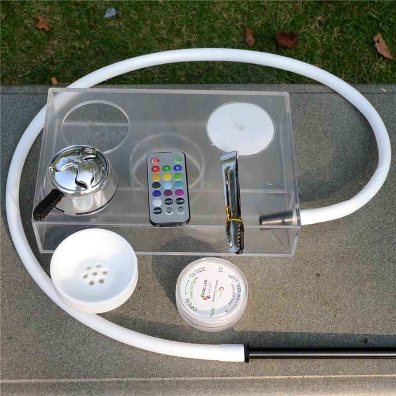 厚のアクリル水ギセルセット水ギセル水ギセルホースでシーシャ炭ホルダーシーシャ水容器 Chicha Narguile シーシャ  グループ上の ホーム&ガーデン からの 水パイプたばこ用パーツ & アクセサリー の中 1