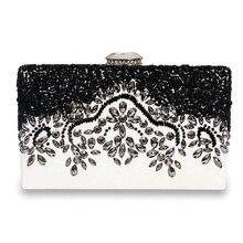 Moderne Elegante Temperament Partei Handtaschen Mode Edlen Kristall Verzierten Diamant-abend-handtasche-qualität High Grade Voller EB002