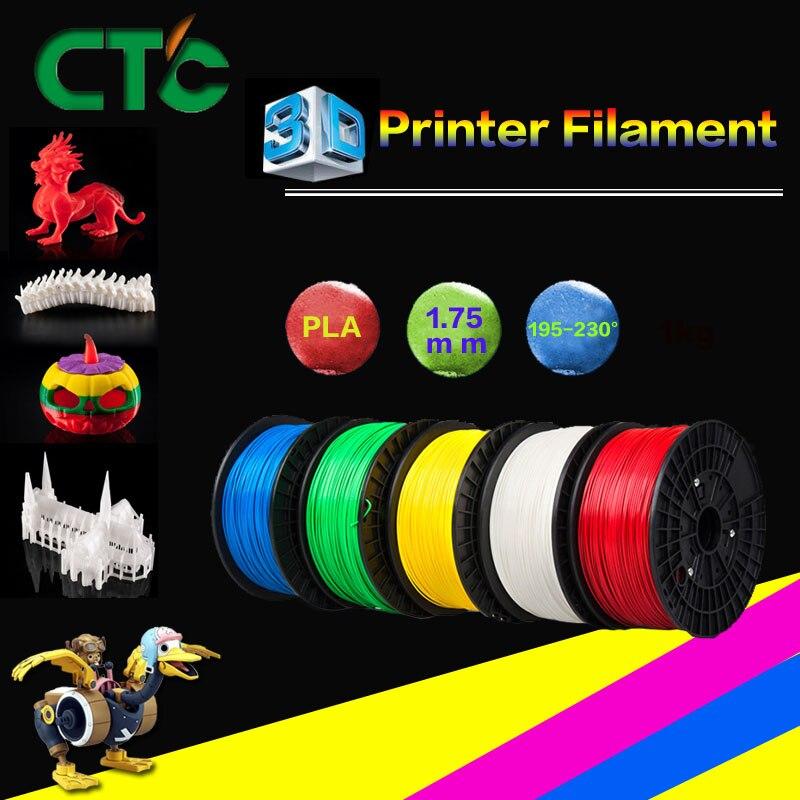 Impressora 3d Impressora PLA ABS 1.75 milímetros filament com spool Roxo Amarelo Verde Cinza Preto EUA Stock