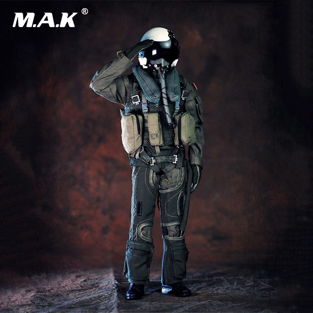 1:6 Male Soldier Clothes Set US Navy VF-101Grim Reapers Combat Suit Clothes Without Body and Head for 12 inches Man Figure Body 1 6 male clothes set military uniform wwii soviet army cossack cavalry clothes suit for 12 inches man action figure accessory