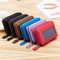 Hot Sale Women Men's Credit Card Holder/Case Card Holder Wallet Genuine Leather Business Card Package Cow Leather Bag