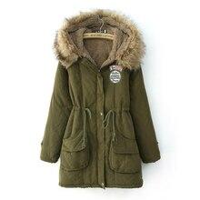 2017 Winter Plus Size Slim Thickening Warm  Wool Outerwear Coats Woolen Overcoat  Long Coat Large Size Wool & Blends Long Jacket