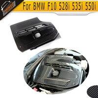 5 Series Carbon Fiber Air Inlet Box Housing Engine Cover For BMW Seden F10 528i 535i 550i 2011 2012 2013