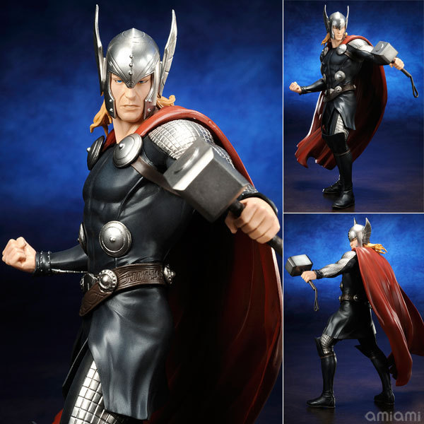 Hot 1pcs 17CM anime figure ARTFX52 the avenger  THOR action figure collectible model toys brinquedos new hot 17cm avengers thor action figure toys collection christmas gift doll with box j h a c g
