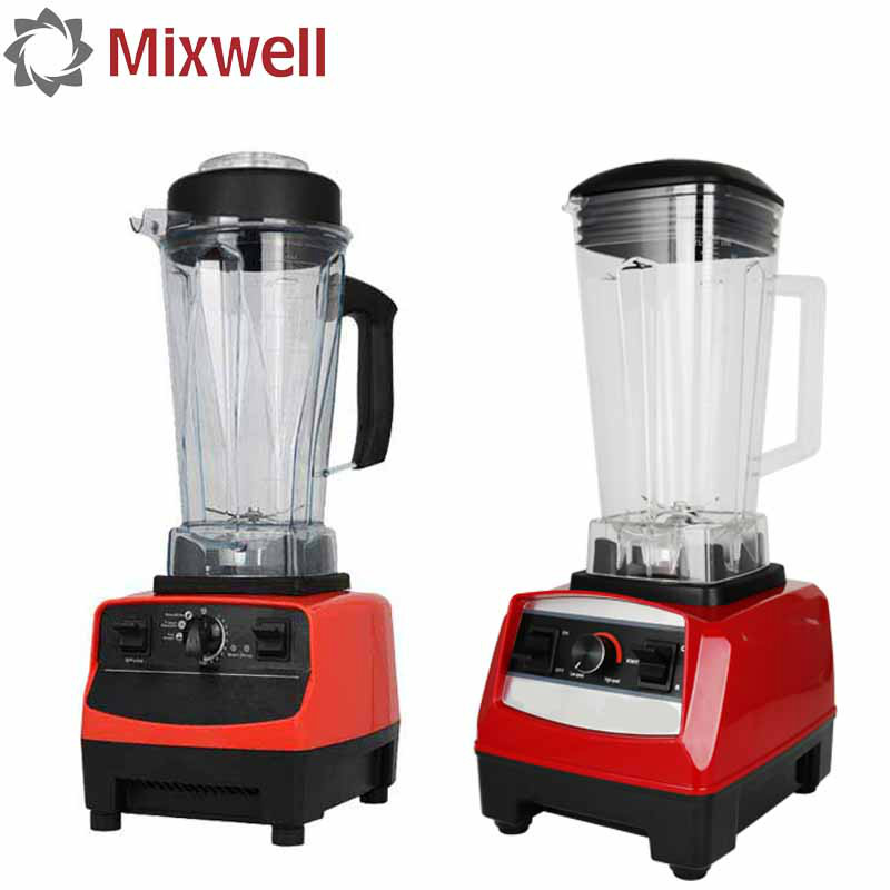 Heavy Duty Blender For The Kitchen Food Grade Blade Red Smoothies Maker Kitchen  Appliances Multifunction Electric