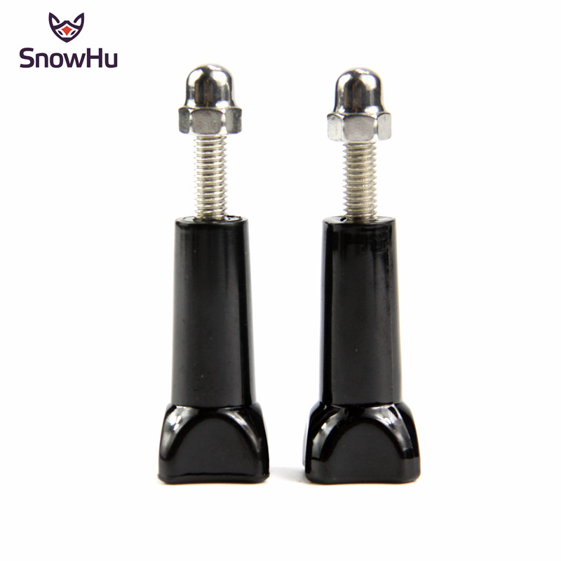 SnowHu 2pcs Screw Long Converter Mount Factory Whole Sell Price For Sony AEE Go Pro Hero 8 7 6 5 4 Xiaomi Yi 4k Accessories GP08