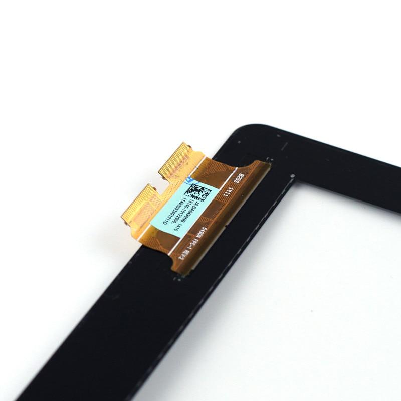 """מקרן קיר חדש מקורי 10.1"""" עבור ASUS Transformer Book T100 T100TA JA-DA5490NB Touch Screen Digitizer לוח חיישן עם צהוב Flex כבל (5)"""