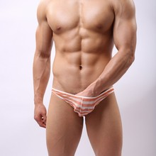 Hot!!Brand Name Sexy Transparent Men's Underwear Mesh Underwear Addicted Sexy Bikini Mens Nylon Lingerie Sexy TKW02