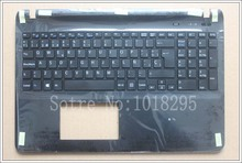 Spanish Latin laptop keyboard for sony Vaio SVF15 FIT15 SVF151 SVF152 SVF153 SVF1541 SVF15E SP keyboard with Palmrest Cover