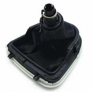 Image 5 - 5 6 Gang Schaltknauf für Seat Altea Leon II Toledo III Auto Stick Hebel mit Gamasche Boot abdeckung Verschiebung Hand ball