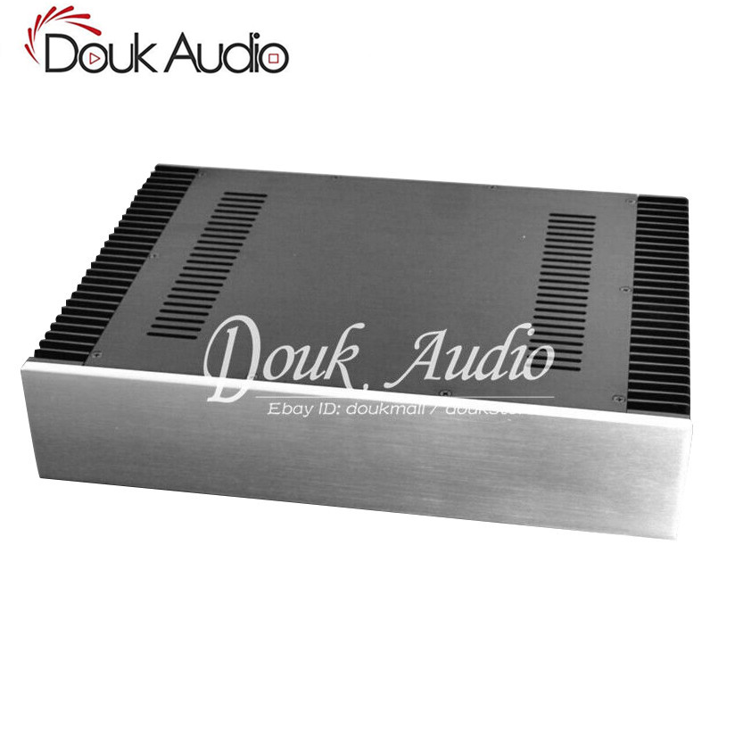 Douk Audio Aluminum Amplifier Chassis DAC Case Enclosure Cabinet Side Radiating Frame BoxDouk Audio Aluminum Amplifier Chassis DAC Case Enclosure Cabinet Side Radiating Frame Box
