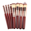 Profissional 8 pçs/sets Makeup Eyeshadow Fundação Stipple Fiber Pó Pincel de Blush Pincéis de Maquiagem Ferramenta de Beleza Conjunto