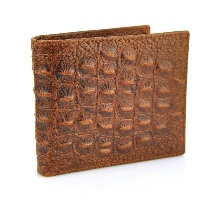 Men/'s Natural Leather Wallet 6 Credit Card Slots 2 id Windows 2 Bill Sections uk