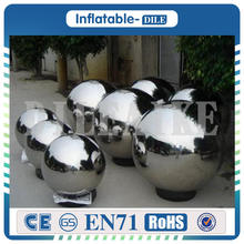 лучшая цена Free shipping door to door 1.0 m PVC inflatable crystal ball,inflatable mirror ball,inflatable mirror balloon
