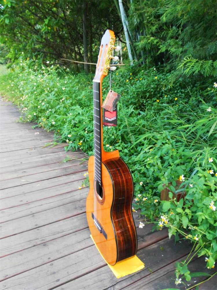 جيتار صوتي كلاسيكي مقاس 39 بوصة ، جيتار صوتي من VENDIMIA شجرة التنوب/خشب الورد ، جيتار كلاسيكي مع سلسلة من النايلون + أوتار