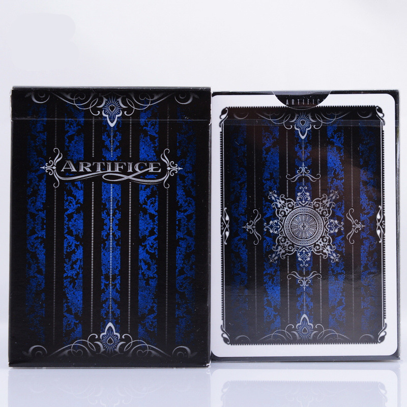 Blue Artifice V2 Playing Cards 88*63mm Paper Cards Magic Poker Card Magic Trick Collection Card