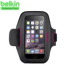 Белкин оригинал спорт-черного нужным работает тренажерный зал повязки сумка ручной моющиеся чехол для iPhone 6 / 6 s 4.7 » с упаковкой бесплатная доставка