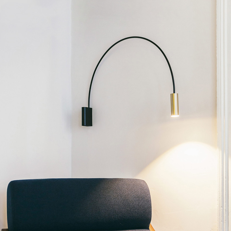 Modern Wall Lamp LED metal Wall Sconce bedroom bedisde Light Flush Mount wall Lights Lustres bathroom fixtures home lighting